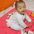 【昏昏媽】寶寶的手工豆豆毯 柔軟觸覺刺激的夢幻彌月禮/歐洲La Millou推薦