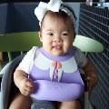 【蔡K力媽】讓寶寶充分享受角色扮演的樂趣 英國The Good Time 防水矽膠圍兜