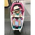 【美花媽】嬰兒推車坐墊也有天絲款!air cossi超透氣抗菌天絲坐墊好舒服啊~