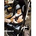 【賈桂琳媽】《寶寶推車坐墊》air cossi超透氣天絲坐墊~一體成型枕頭+坐墊