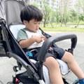 【Aidric媽咪】育兒好物|坐推車也能超涼爽 韓國lolbaby Hi Jell-O涼感蒟蒻推車坐墊