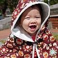 【Tiss】- Kinderspel 韓國時尚寶寶第一品牌-魔法小斗篷+遮陽童話花帽