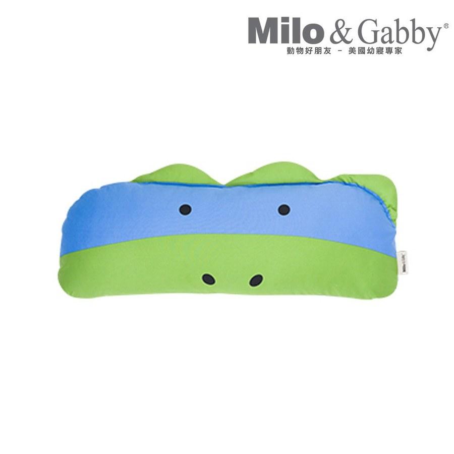 Milo & Gabby 動物好朋友-長條抱枕心枕套組(Dylan恐龍)