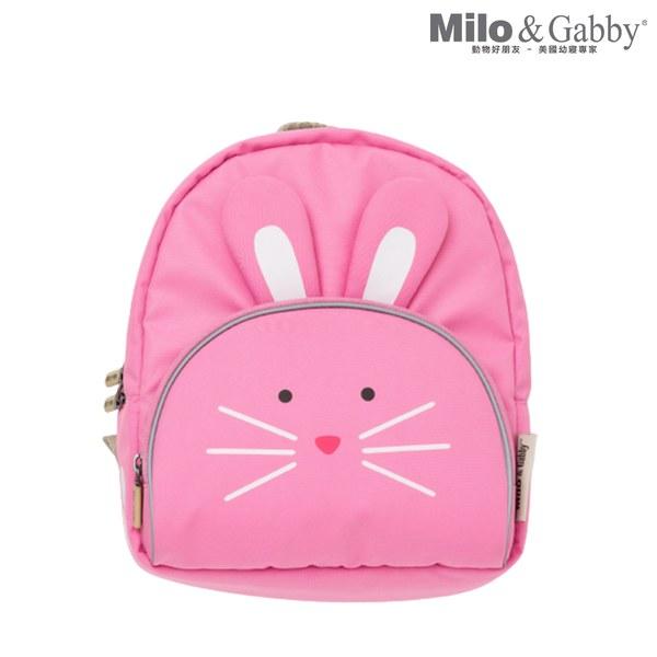 Milo & Gabby 動物好朋友-超吸睛小童背包/防走失包_二代新款(Lola兔兔)