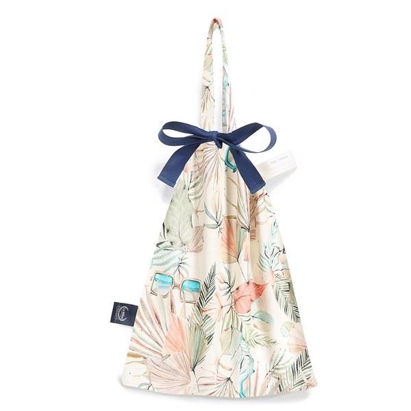 【預購商品,5/3起陸續出貨】La Millou 可愛束口袋手提包-棕櫚女孩