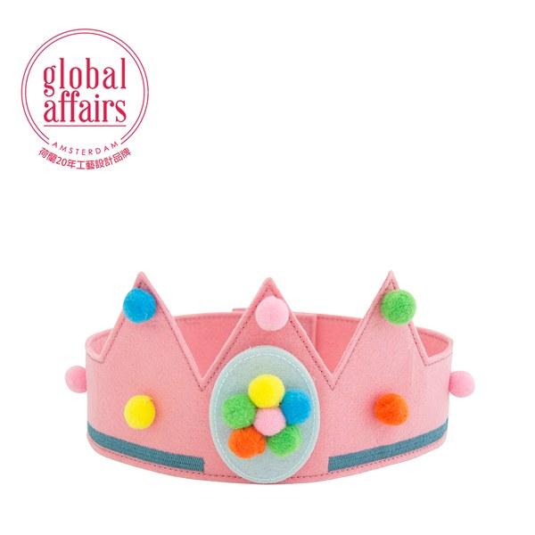 global affairs 派對生日皇冠(彩虹粉)
