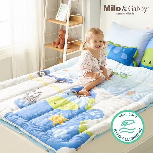 Milo & Gabby 小童加大款輕柔舒適‧莫代爾Modal蓋被_110x140cm(波麗士大人Dylan)