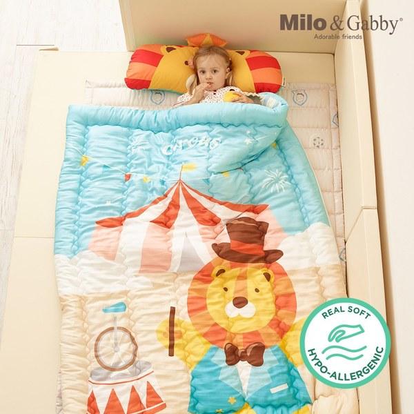 Milo & Gabby 小童加大款輕柔舒適‧莫代爾Modal蓋被_110x140cm(馬戲團團長Lonnie)
