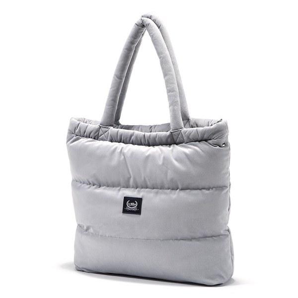 La Millou Aspen防水空氣時尚媽媽購物包-舒柔深灰