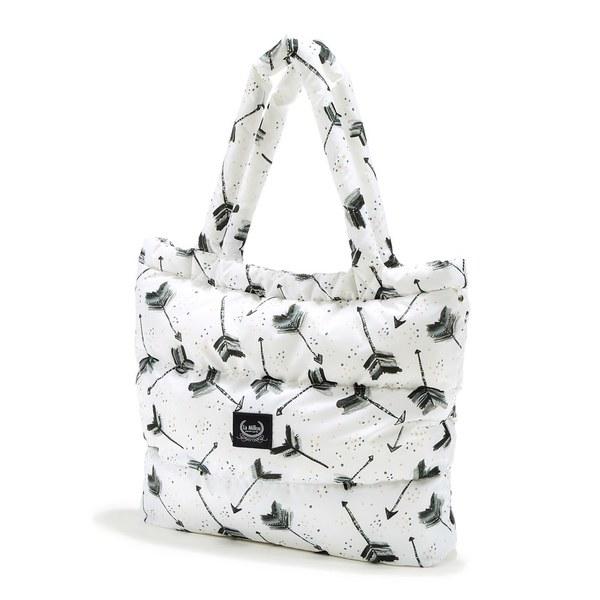 La Millou Aspen防水空氣時尚媽媽購物包-丘比特之箭(皇家)