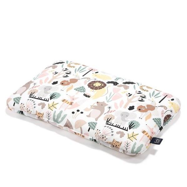 La Millou 竹纖涼感小童枕加大-30 cm x 50 cm(動物交響樂)