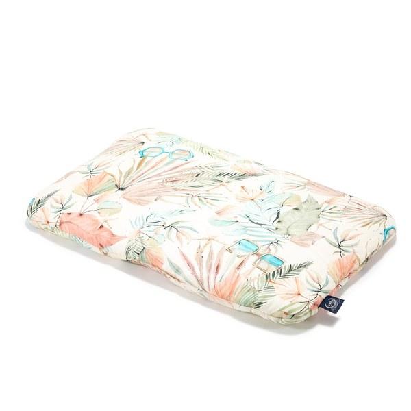 【預購商品,5/3起陸續出貨】La Millou 竹纖涼感小童枕加大-30 cm x 50 cm (棕櫚女孩)