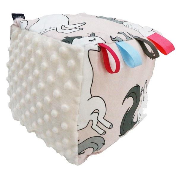 La Millou 五感標籤豆豆球-童話獨角獸(雲朵白)