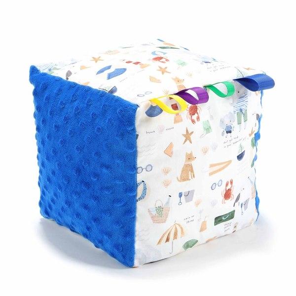 La Millou 標籤豆豆球-海灘小象(藍)-加勒比海藍