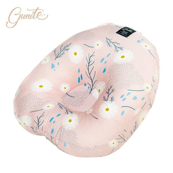 【預購10/27出貨】【gunite】寶寶懶骨頭_包覆機能親子互動窩(蒲公英粉)