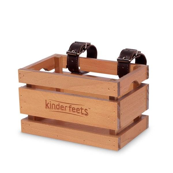 Kinderfeets方形木車籃