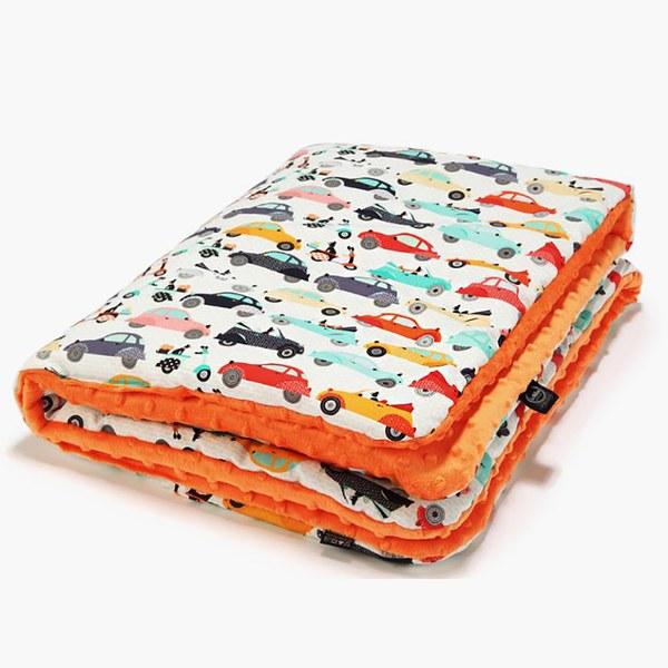 【彌月禮盒】La Millou 暖膚豆豆毯標準款(多款可選)-附禮盒包裝+送禮提袋