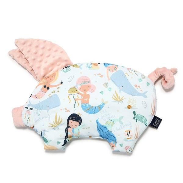 La Millou 豆豆小豬枕-小美人魚II(粉嫩氣質膚)