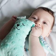 SHE-ELLA勁寶睡覺必備-La Millou 豆豆安撫兔/新生兒安撫玩具