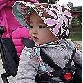 【塔尼媽】- Kinderspel 「時尚寶寶」學步鞋&童話花帽