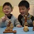 【小子媽】- Soopsori原粹木積木-26P磁性積木組 創意無限玩