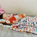 【小E媽】歐洲La Millou安撫彌月禮 推薦  ▍ 立體豆豆 刺激觸覺 繽紛時尚 歐洲極致手工工藝 舒適透氣 ▍ 讓寶寶在柔軟觸感中安穩睡著