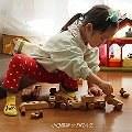【小Q媽】- Soopsori 韓國蘇索力原粹木積木  森林原木打造的安全無毒磁性積木