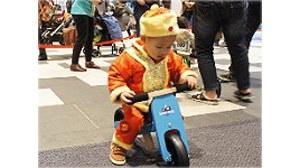 【Wenwen媽】- 南港City Link。東尼又哭又笑的逗寶時尚寶寶運動大會★滑步車比賽-小寶寶組(三輪滑步車)
