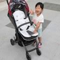 【昏昏媽】『育兒好物』Hi Jell-O涼感蒟蒻推車坐墊 推著yuko涼爽過夏天