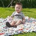 【Q媽】- La Millou竹纖涼感巾真是大人與小孩的好朋友