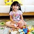 【MillyHo媽】- Milo&Gabby動物大枕頭+Soopsori原粹木積木 我們家的新朋友小虎來嘍!!