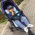 【土司兒】育兒|air cossi 超透氣抗菌天絲坐墊。夏天必備透氣排濕推車坐墊