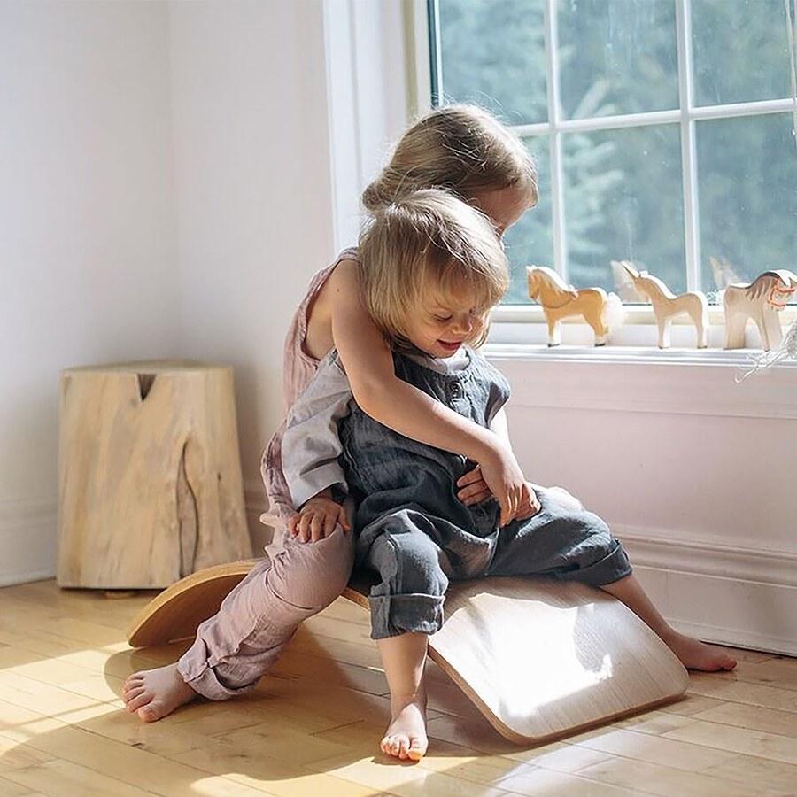 Kinderfeets-好好玩微笑平衡板(粉紫)