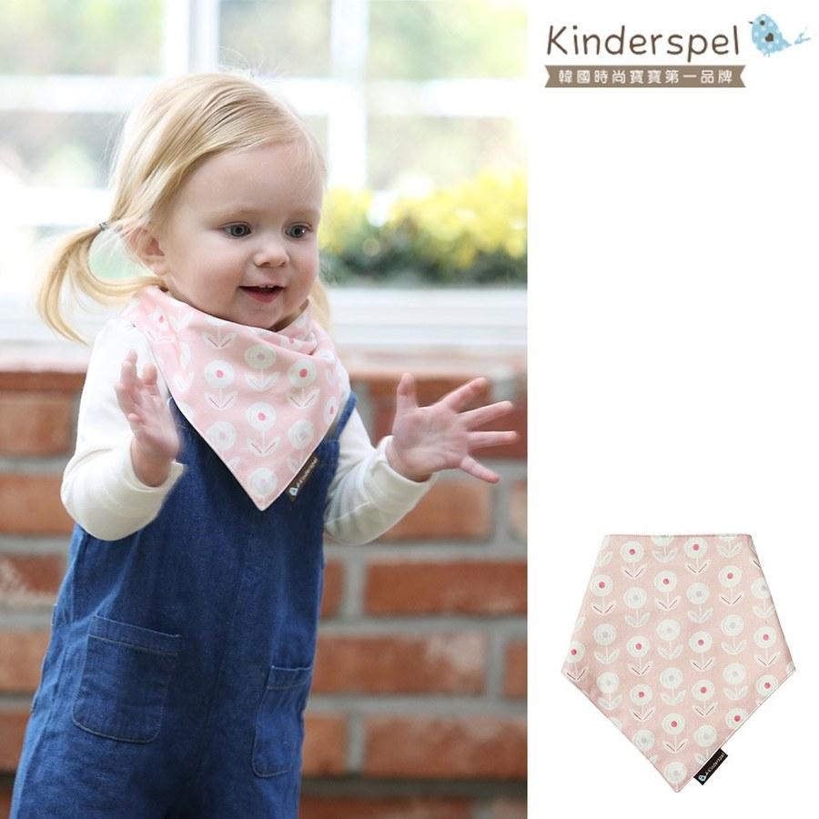 Kinderspel 繽紛時尚‧有機棉圍兜領巾 (糖果花屋)