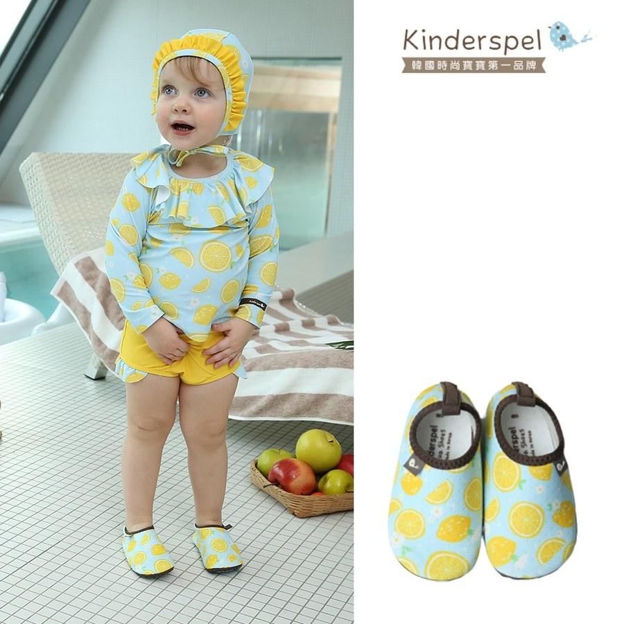 Kinderspel 玩水趣寶寶泳鞋-檸檬蘇打
