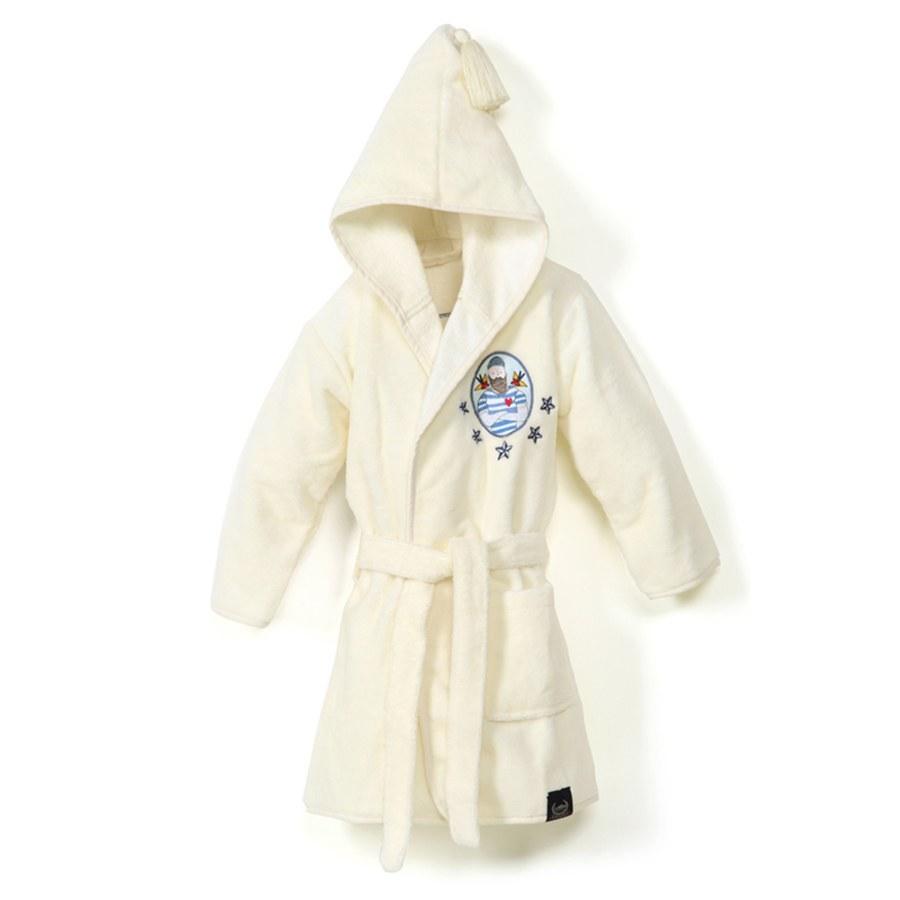 La Millou Jersey 時尚篷篷睡袍浴袍_加大2.5-5Y- 大力水手(雲朵白)