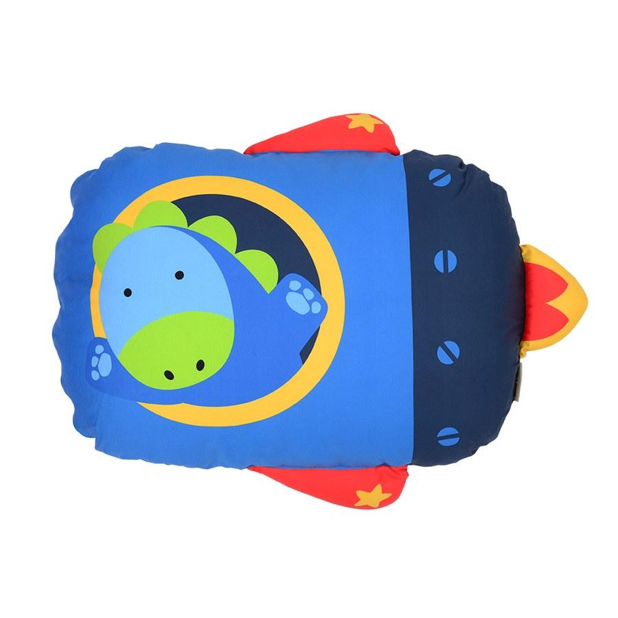 Milo & Gabby 動物好朋友-超細纖維防蟎大枕心+枕套組(DYLAN太空恐龍)