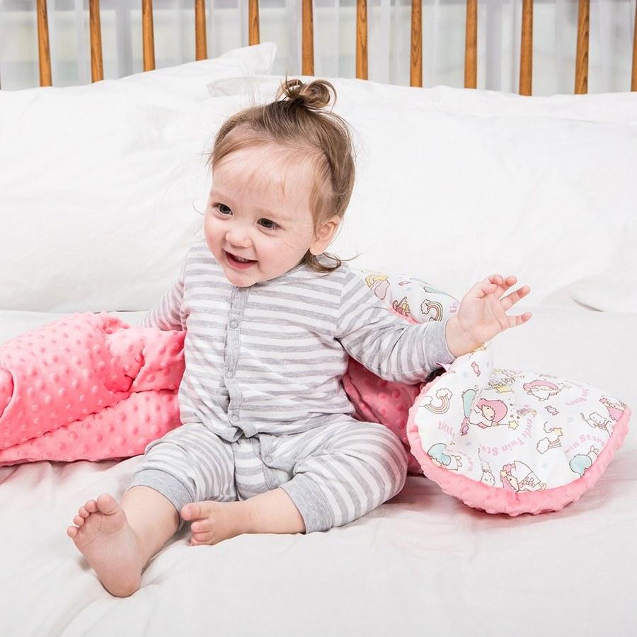 【2020限定聯名款】La Millou 暖膚豆豆毯-Little Twin Stars甜點派對篇(粉嫩薄荷綠)
