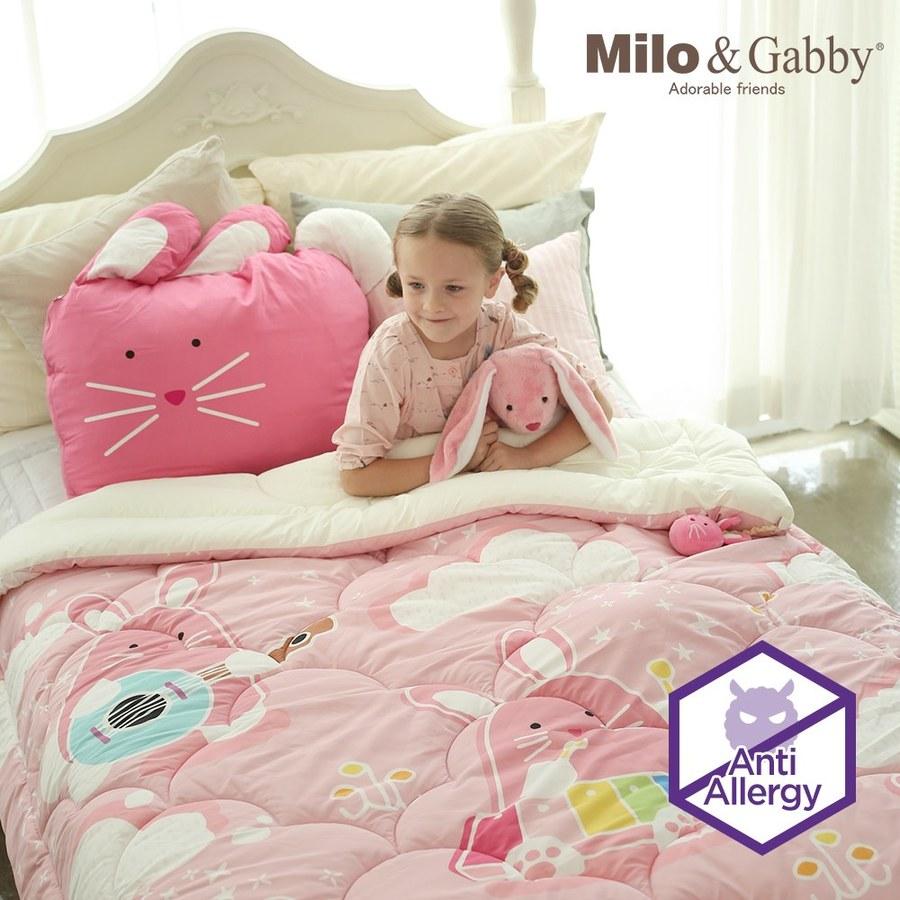 Milo & Gabby 兒童大人款輕柔舒適FresiL棉被(LoLa 音樂家)-150x200cm