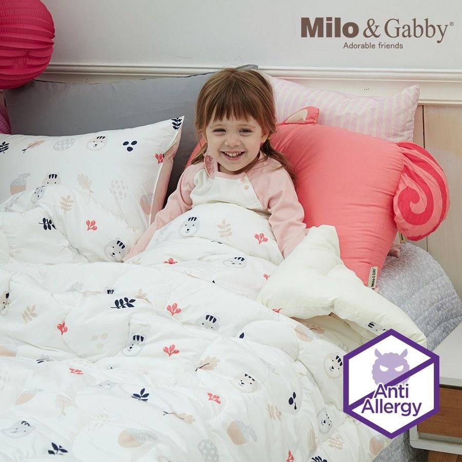 Milo & Gabby 兒童大人款輕柔舒適FresiL棉被(Lucy水果)-150x200cm