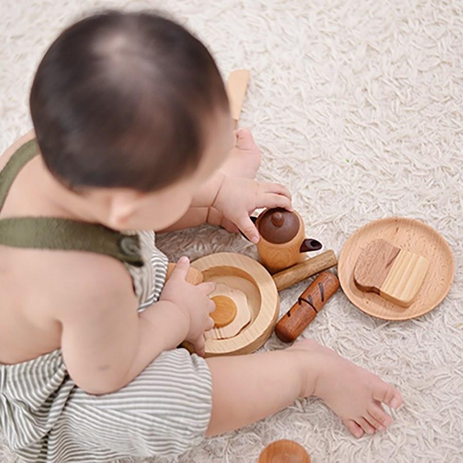 Soopsori全腦開發‧原粹木積木(歐風早午茶(煎))