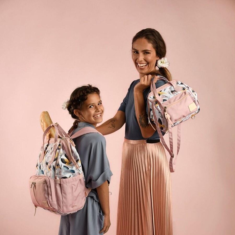 La Millou DOLCE VITA 杜絲時尚媽媽側背包-可愛鳥語