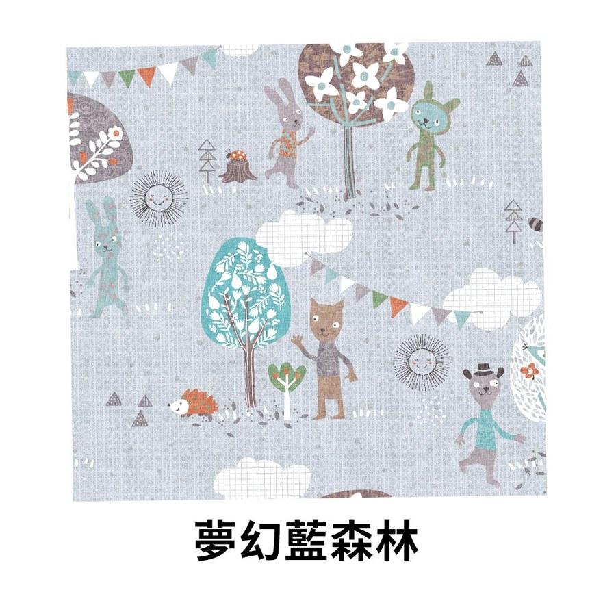 【韓國 lolbaby】Rayon防靜電輕薄柔軟床墊-夢幻藍森林