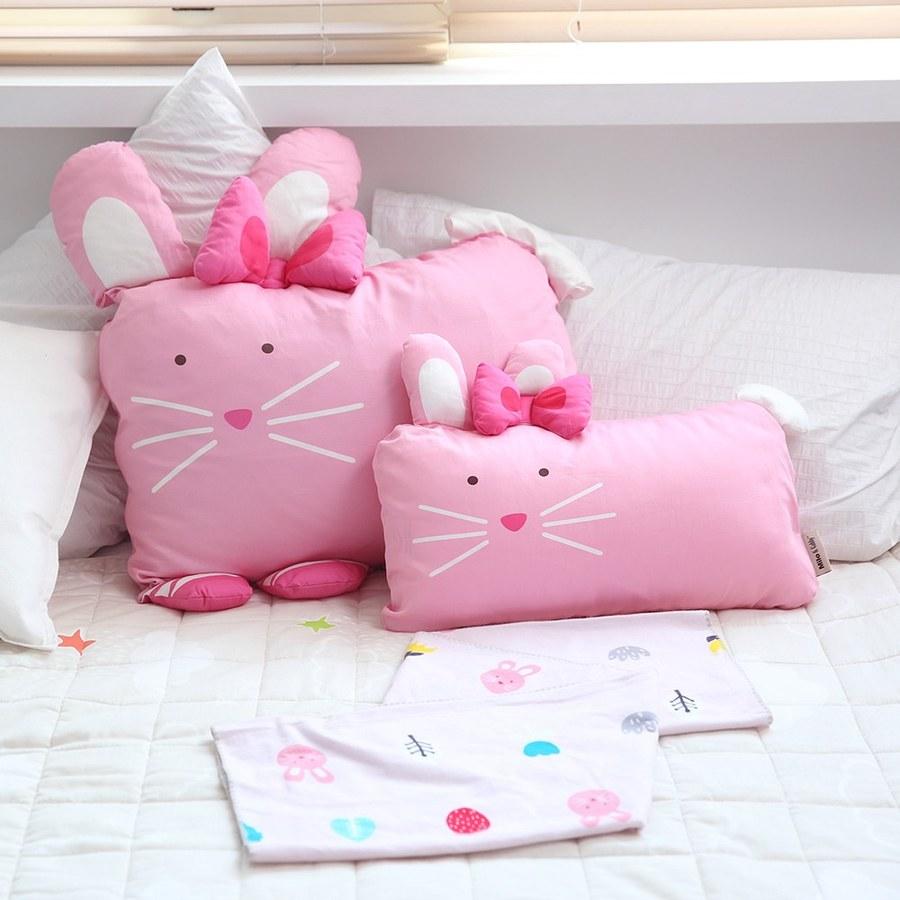 Milo & Gabby 動物好朋友-mini枕頭套(LOLA芭蕾舞兔兔)