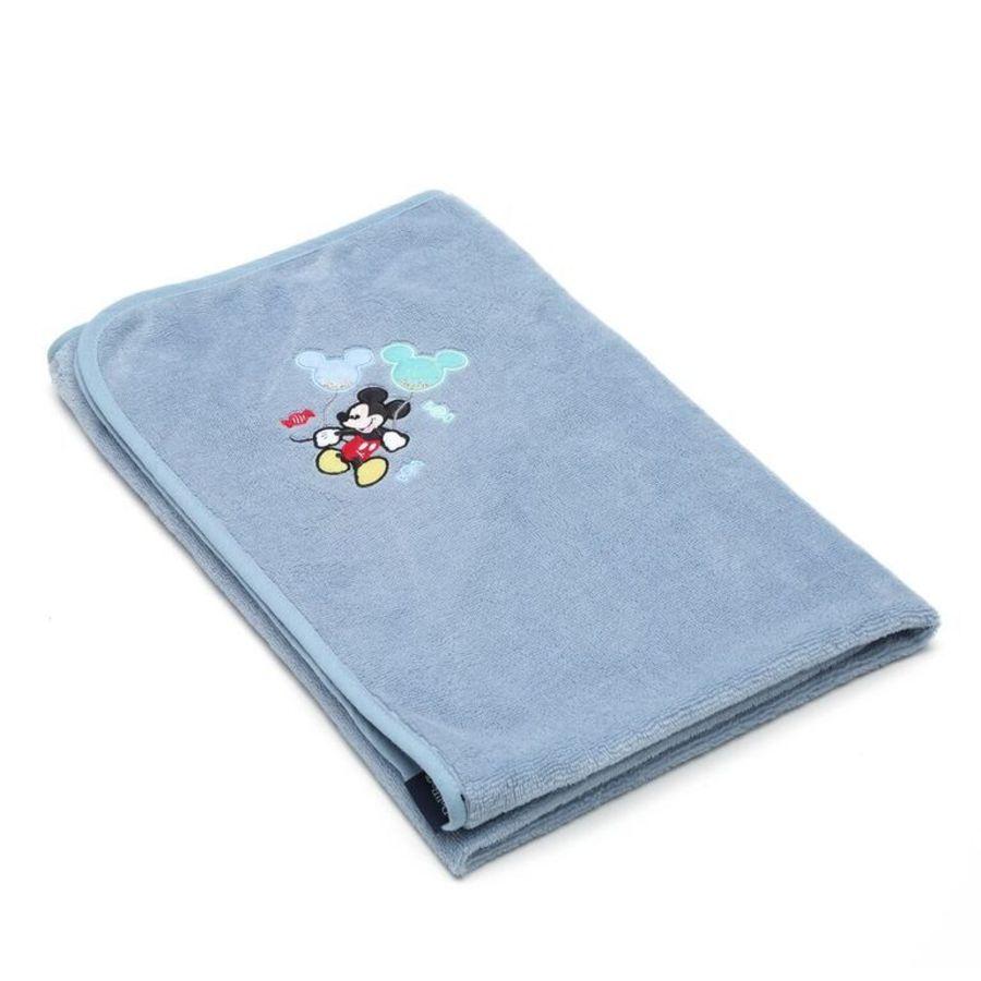 La Millou Jersey時尚篷篷浴巾_標準0-2Y- 氣球嘉年華(蒙地卡羅藍)