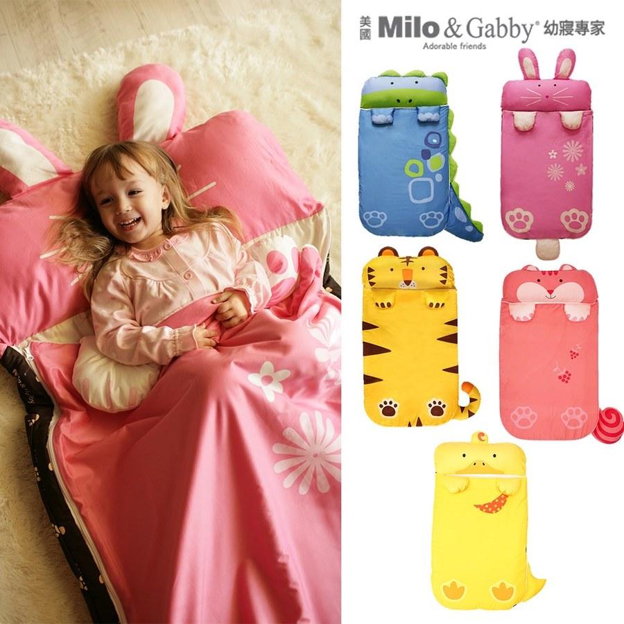 Milo&Gabby 動物好朋友-三合一超柔軟四季睡袋 (多款可選)