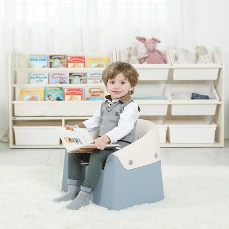 Sagepole 成長美學mini小沙發椅(藍)