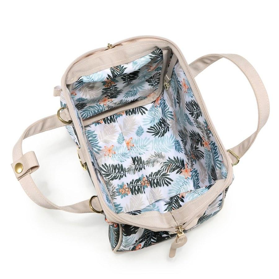 La Millou DOLCE VITA 杜絲時尚媽媽側背包-叢林鸚鵡