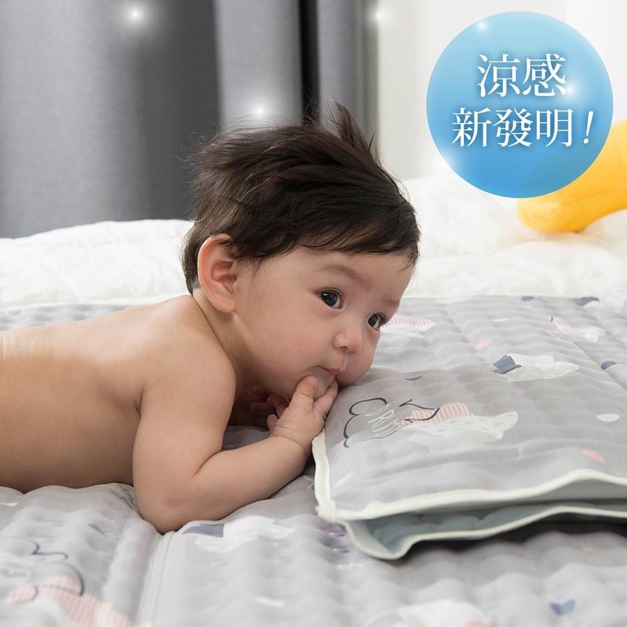 【韓國 lolbaby】Hi Jell-O涼感蒟蒻枕頭_涼嬰兒兒童枕頭(雲朵朵)