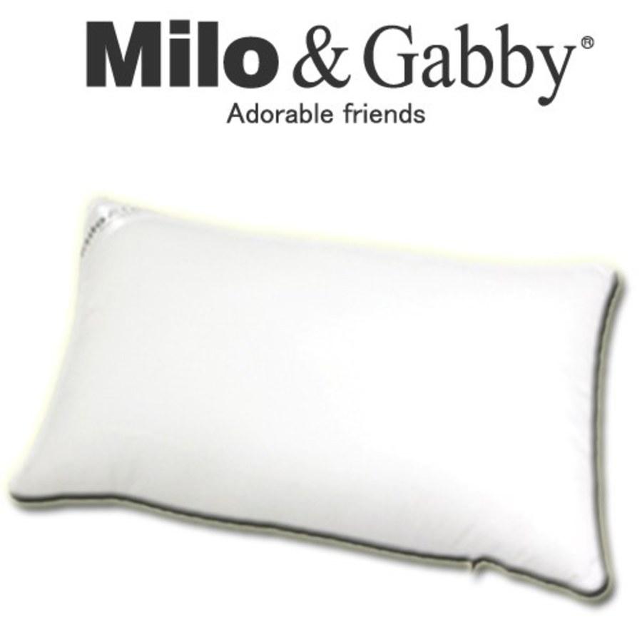 【此商品為預購品,於4/10起出貨】Milo & Gabby 動物好朋友-超細纖維防蹣抗菌mini枕心